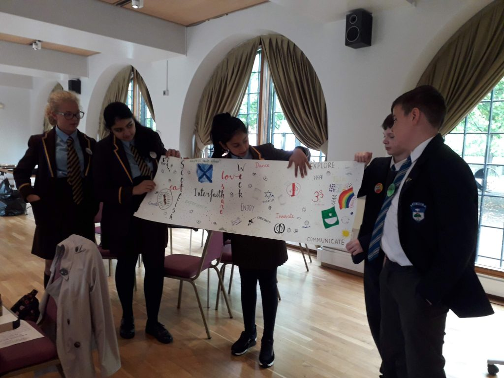 Pupils exploring the themes of Interfaith Week