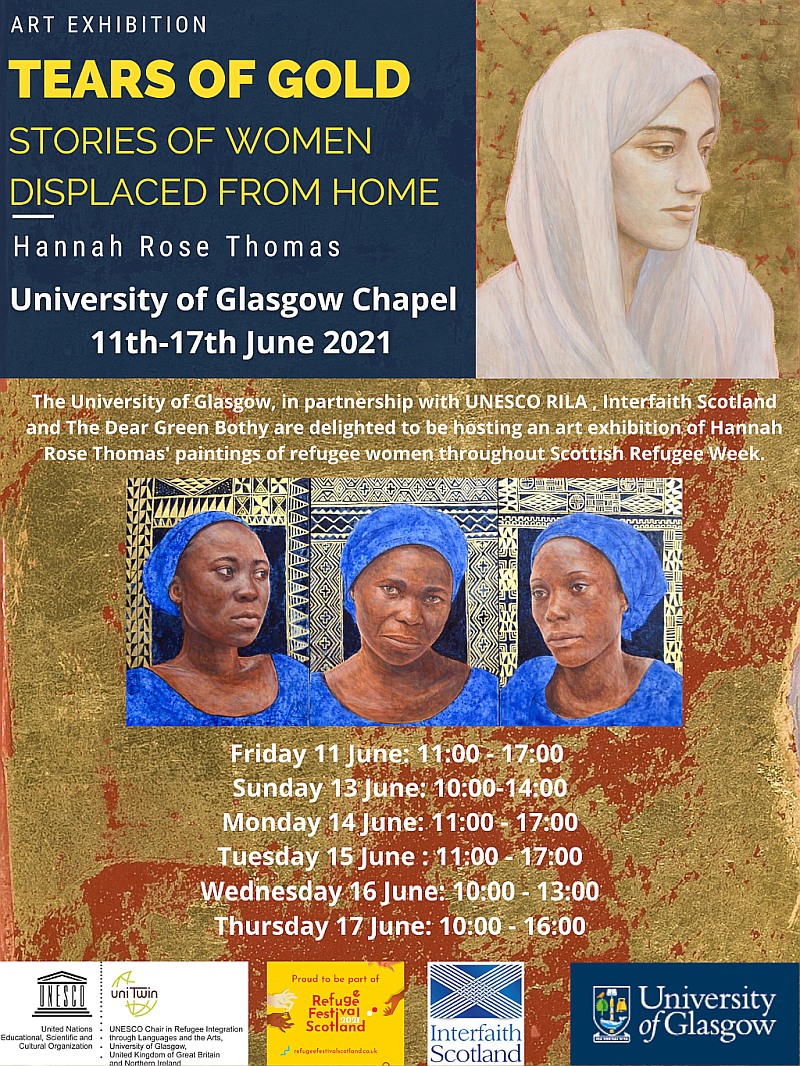 Final poster for art exhibition
